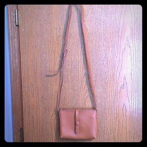 J. Crew Factory tan crossbody bag, like new